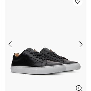 GREATS® Royale Perforated Leather Sneakers 7